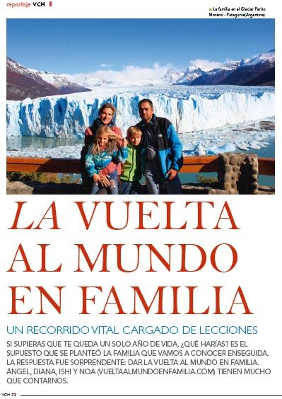 Entrevista Revista Viajar con Hijos