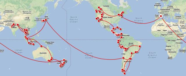Mapa Viaje Final