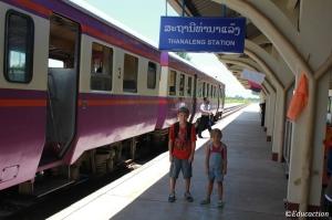 Llegada a Laos