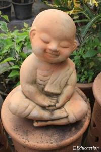 Estatua de un budita
