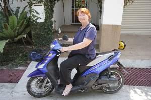 Lucy, la abuelita motorizada