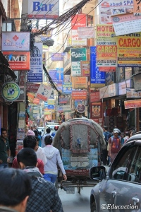 Calle de Katmandu