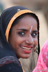 Mujer de Rajastan