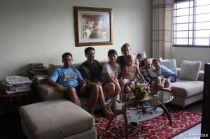 Nuestra familia de acogida en Singapore