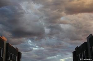 Nubes en Melbourne