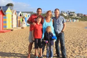 La familia con Greg