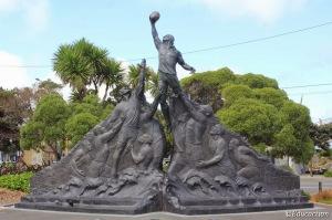 Estatua Homenaje al Rugby
