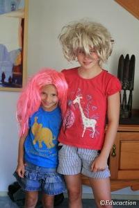 Noa & Gaby disfrazadas